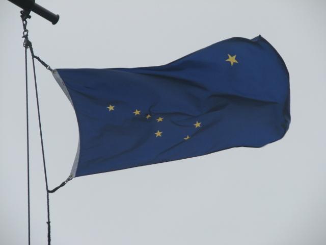 Bandera d'Alaska