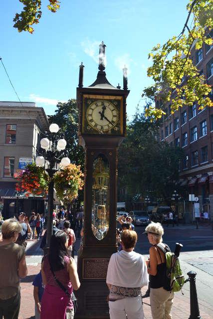 Vancouver, rellotge de Vapor